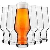 Krosno Bicchieri Birra Artigianale Vetro | Set di 6 | 400 ML | Collezione...