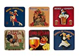 SOTTOBICCHIERI/di Birra Pub Retro Birre di Francia
