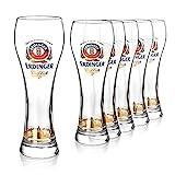 Bicchieri birra Erdinger 0,5l | Set bicchieri birra particolari 6pz. | Bicchieri...