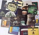 Sottobicchieri da birra in cartone, set da 25, souvenir dall'Irlanda