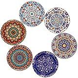 BOHORIA® Premium Design sottobicchieri (Set di 6) - Protezione per Qualsiasi...
