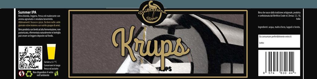 krups spillatore birra